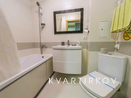 1-room apartment on the day Obolonsky 37, Kyiv - apartment by the day