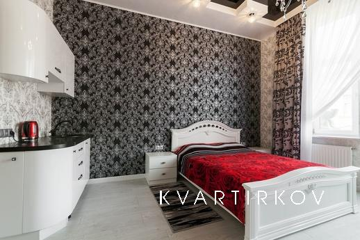 Designer studio apartment for two of the hotel type is locat