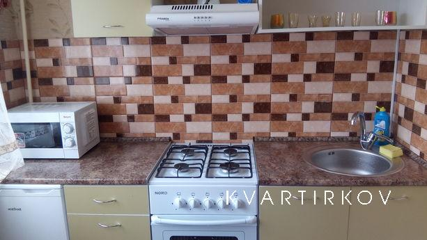 Daily, hourly two-bedroom Center, Kremenchuk - apartment by the day